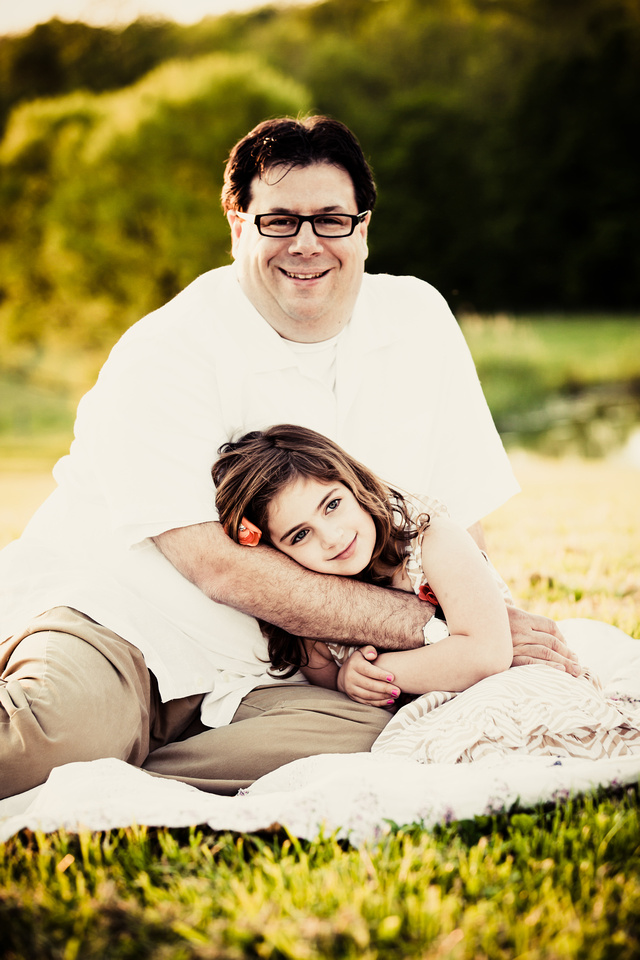 Father Daughter image from recent photo session on the farm
