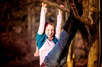 Playful shot from photo session at Historic Yellow Springs, Chester Springs
