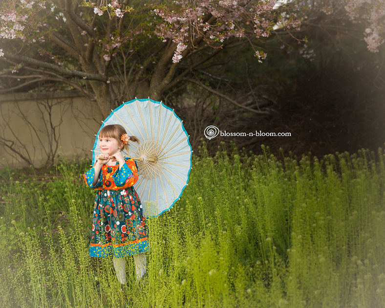 Little Girl with Parasol Portrait, Chester County Photographer, Chester Springs Photographer, Children's Photographer, Philadelphia Area Photographer