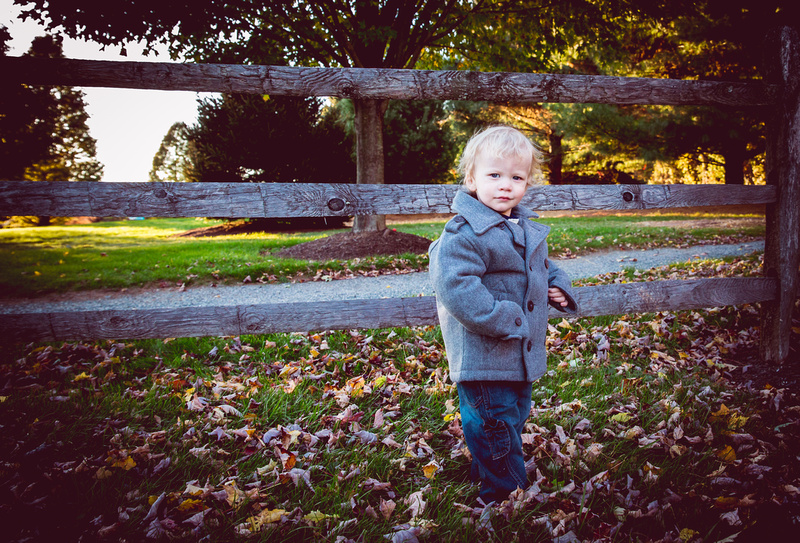 On location portraits - family photo session in Chester County, Chester Springs